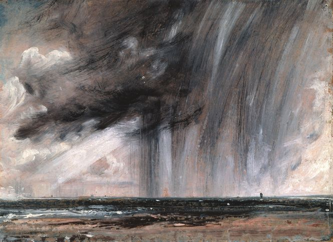 Constable -Seascape Study with Rain Cloud