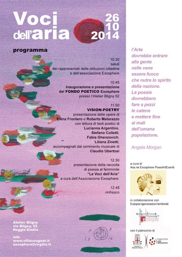 Inaugurazione Associazione culturale PoesiArtEventi