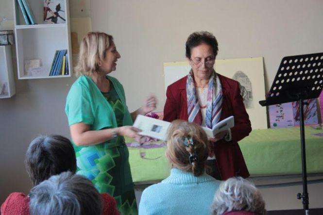 Caterina Franchetta con Simonetta Sambiase (Foto di Claudio Neri)