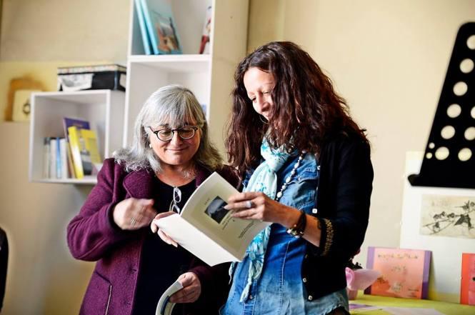 Gabriella Gianfelici e Giorgia Monti (Foto di Stefania Vassura)