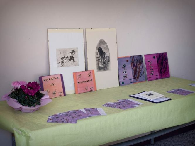 Le opere di Elena Frontero e Roberto Matarazzo (Foto di Marco M.)