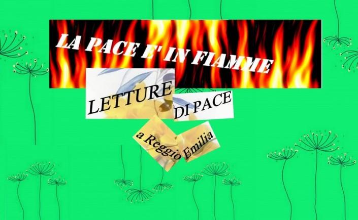 la pace è in fiamme, associazione exosphere, exosphere cultura arte poesia,