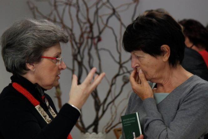 Fernanda Ferraresso e Silvana Baroni