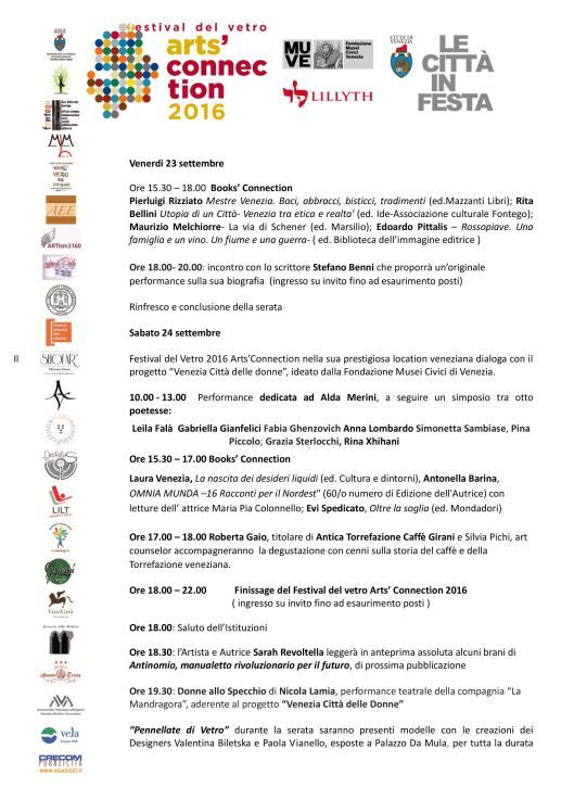 arts connection, venezia, poesia a venezia, vdbd, viadellebelledonne, simonetta sambiase, met sambiase,